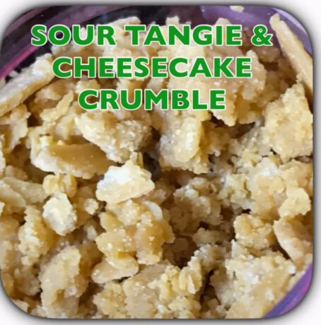 Sour Tangie Cheesecake Crumble