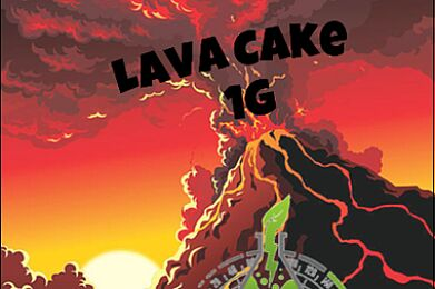 LAVA CAKE- HIGH OCTANE EXTRACTS- 1G
