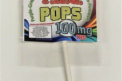THC Lollipops (100 mg)
