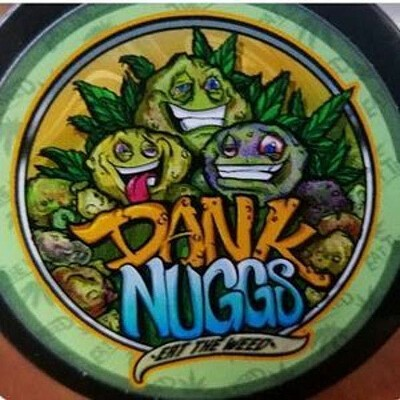 Dank Nuggs - Strawberry Punch 350MG Edibles, Order Weed Online From