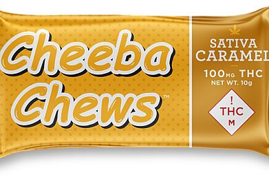 Cheeba Chews Sativa Caramels