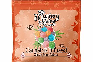 Chewy Sour Cubes 100mg