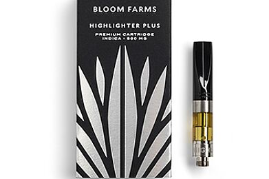 Bloom Farms Highlighter Plus Indica Cartridge