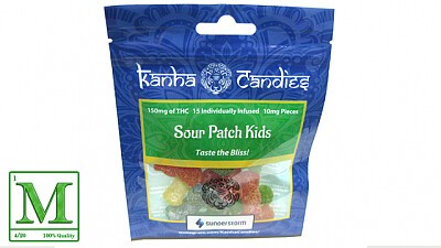 Kanha Candies Sour Patch Kids Edibles, Order Weed Online