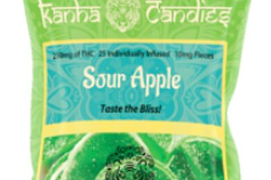 Kanha Gummies Sour Apple 100mg