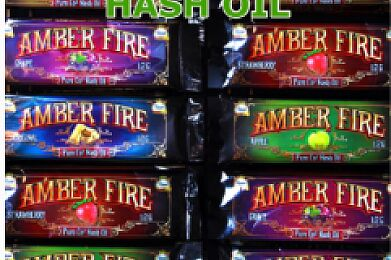 Amber Fire | Pure C02 Hash Oil Syringe