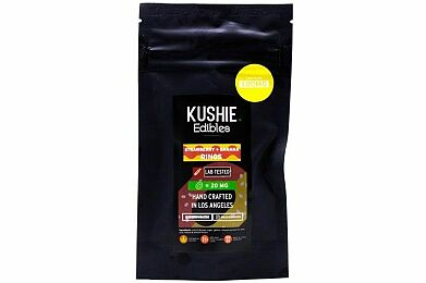 Kushie Blueberry Rings Edibles 100mg (H)