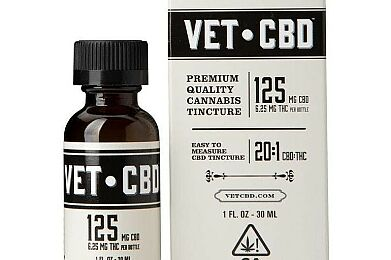 VETCBD Veterinarian Formulated CBD 125MG