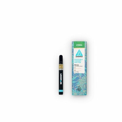 Mimosa Hybrid Disposable Vape Pen By Loudpack (82 39%THC/0 23%CBD