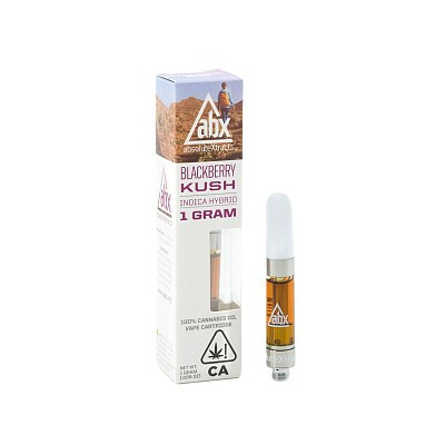AbsoluteXtracts Blackberry Kush Cartridge 1g - Cannabis Express