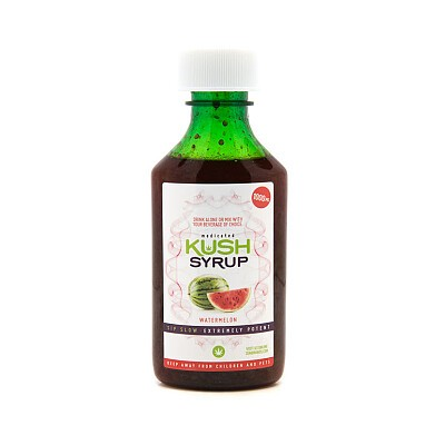 Watermelon Kush Syrup 1000mg Edibles, Order Weed Online From