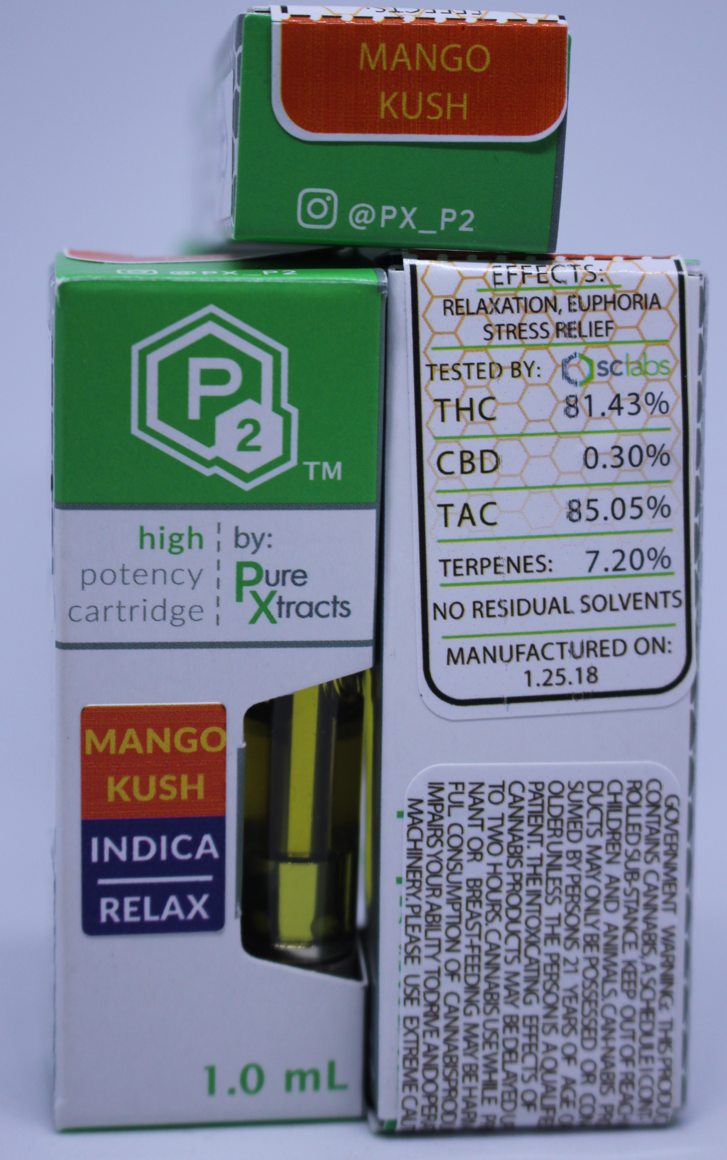 Pure Xtracts P2 Cartridges