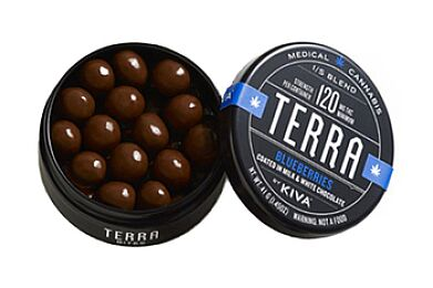Kiva - Terra - Blueberries (120mg)