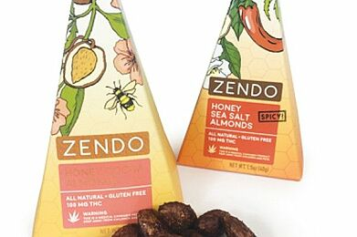 Zendo- Honey Cocoa Almonds 100mg THC