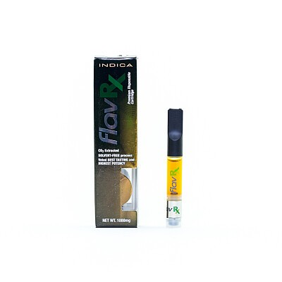 FlavRx Cartridge Indica, Sativa, Hybrid - 1000mg Concentrates, Order