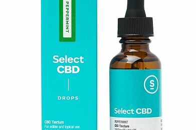 (CW) Select CBD 1000MG Tincture - Peppermint