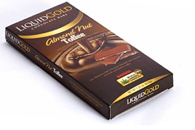 Liquid Gold Almond Toffee Bar (6 Servings)