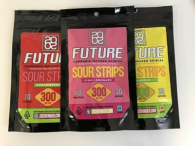 20/20 FUTURE- Sour Strips 300MG Edibles, Order Weed Online